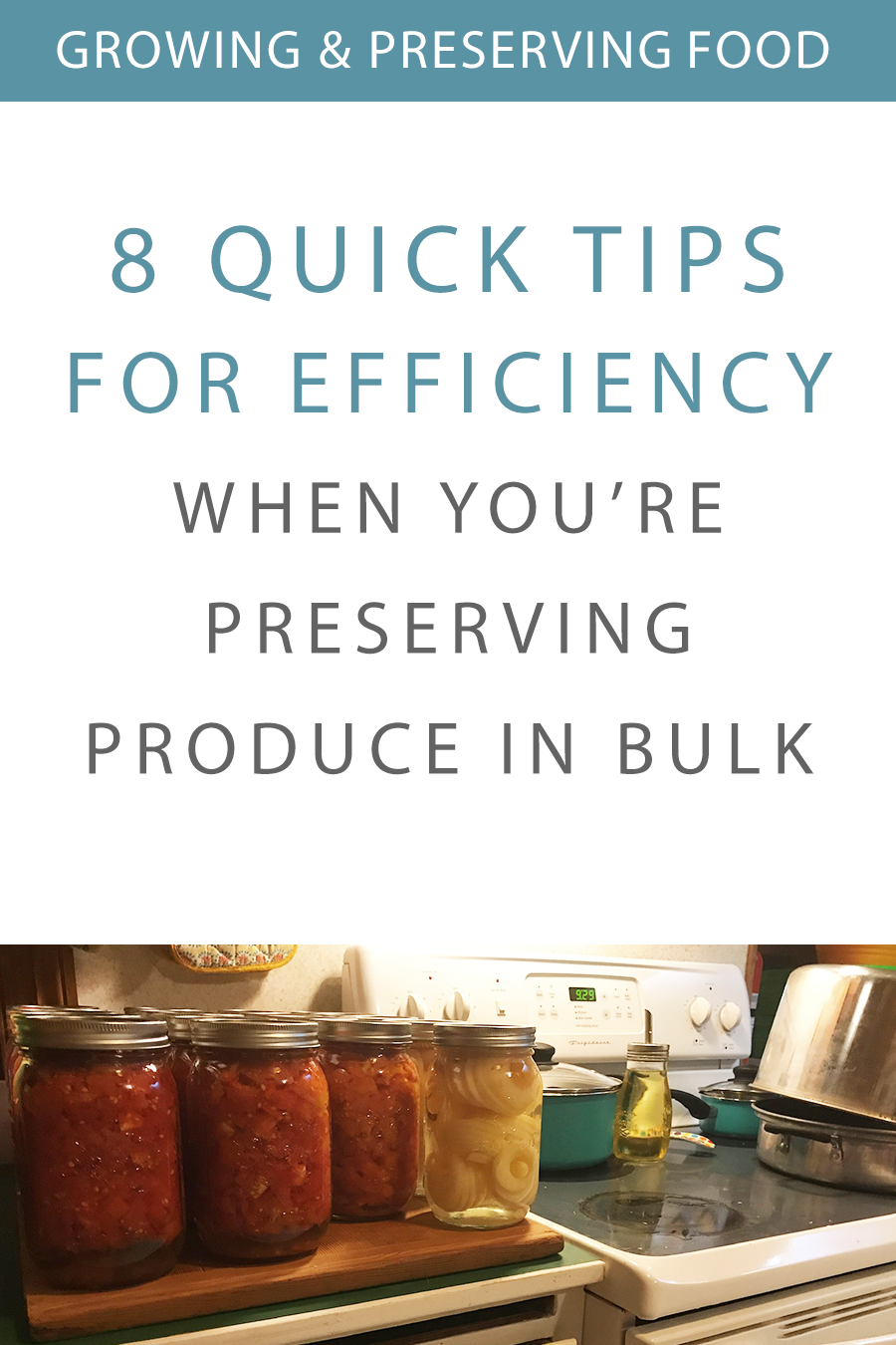 8 Quick Ways to Preserve Produce More Efficiently and Cost-Effectively