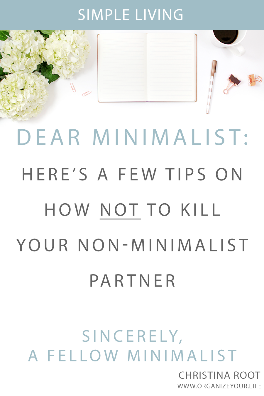 Thriving When You're A Minimalist Living with a Non-Minimalist