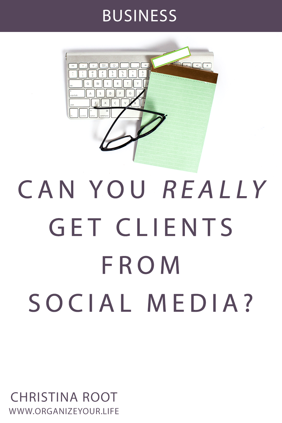 Can you REALLY get clients from social media?