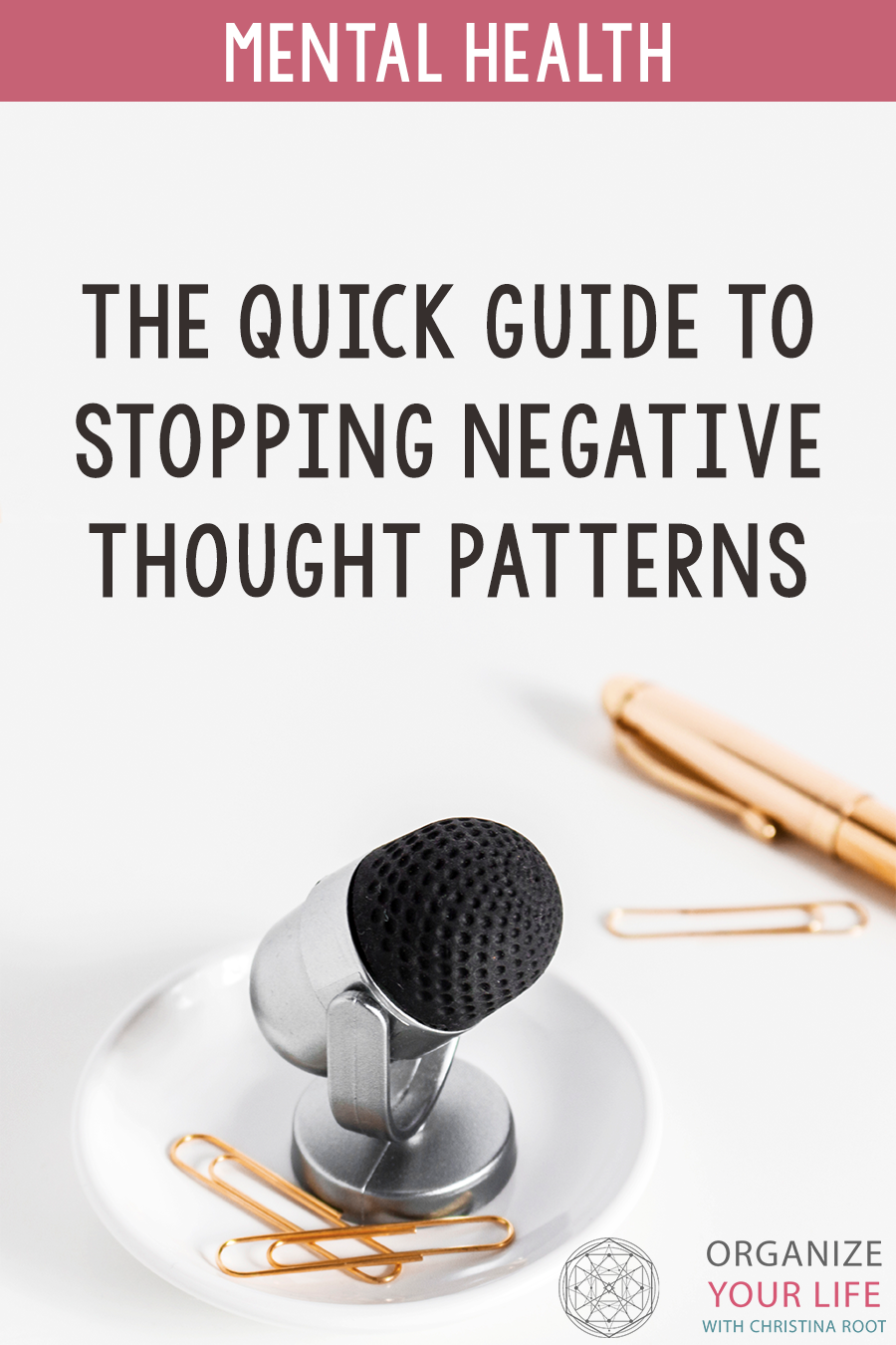 The quick way to stop negative thought patterns